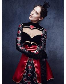 Harten koningin fever kostuum voor vrouwen