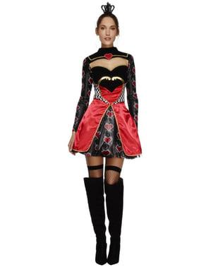Königin der Herzen Kostüm für Damen