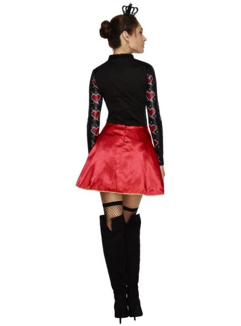 Harten koningin fever kostuum voor vrouw