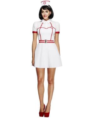 Krankenschwester Kostüm für Damen classic Fever