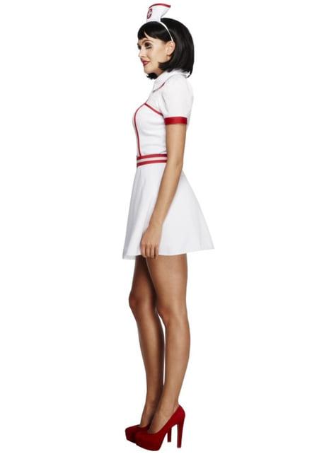Fato de enfermeira fever classic para mulher