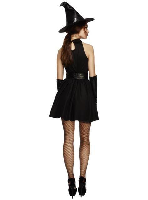 Disfraz de bruja de la oscuridad - mujer
