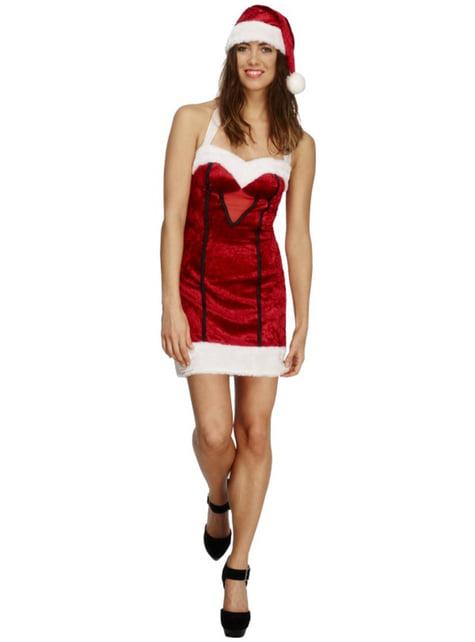 Disfraz Mamá Noel fever para mujer - mujer