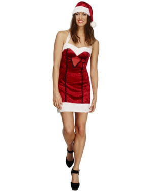 Womens Mother Christmas Fever Costume