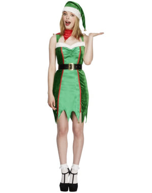 Disfraz de elfa pícara para mujer