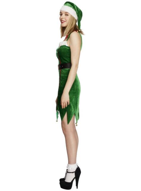 Disfraz de elfa pícara para mujer - traje