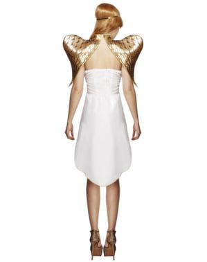 Déguisement ange doré femme