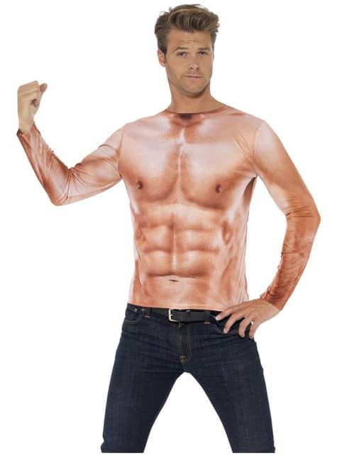 Camisa de músculos para hombre