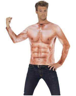 Мъжка тениска с мускули