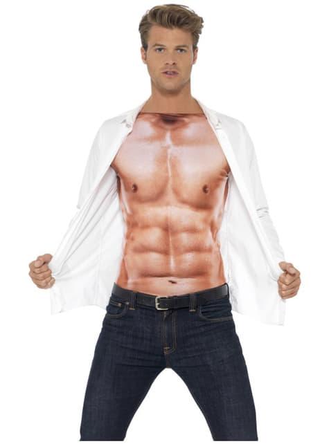 Camisa de músculos para homem