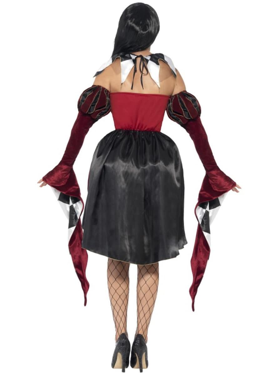 harlekin kost m venezianisch gotisch f r damen funidelia. Black Bedroom Furniture Sets. Home Design Ideas