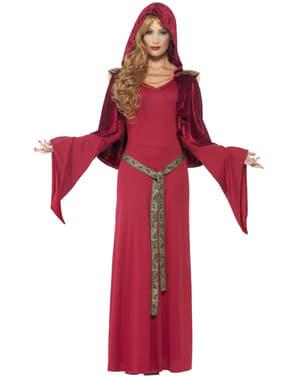 Costume da sacerdotessa medievale donna