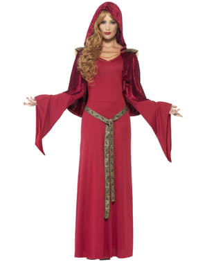 Medieval witch costume