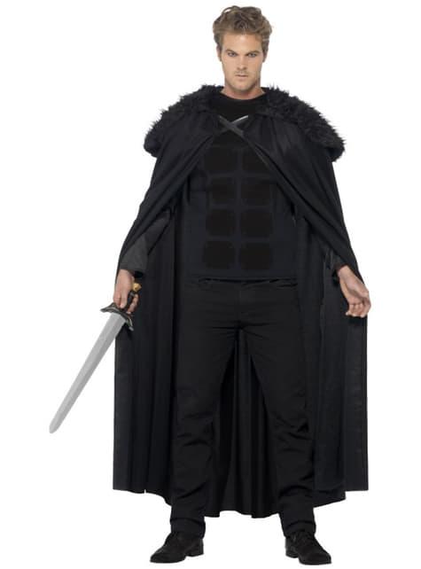 Fato de bárbaro medieval para homem