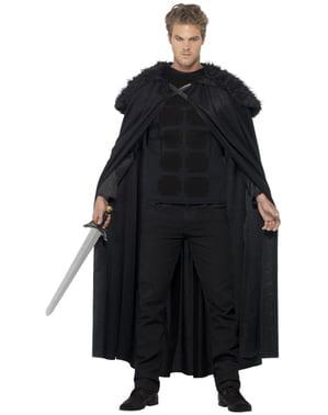 Mittelalterlicher Barbar Kostüm für Herren