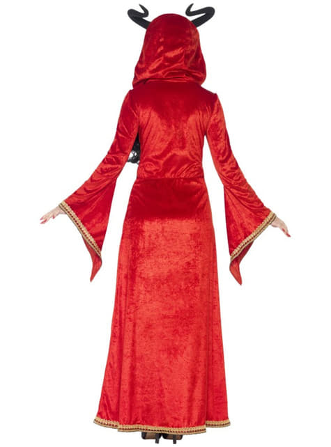 Disfraz de reina demoníaca para mujer - mujer