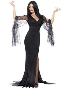 Event #7 : Halloween ! - Sujet commun - Deguisement-morticia-femme