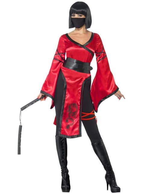Disfraz de ninja sensual para mujer