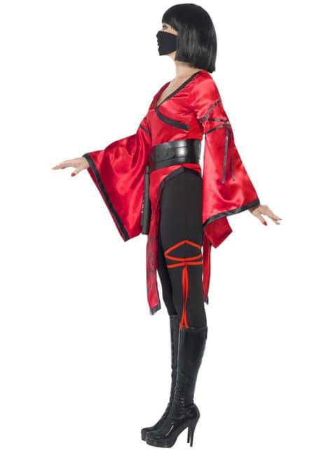 Fato de ninja sensual para mulher