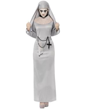 Dámský kostým sexy gotická jeptiška