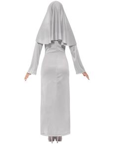 Disfraz de monja gótica sexy para mujer