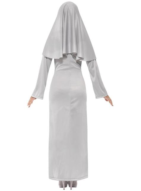Gotische Nonne Kostüm für Damen sexy
