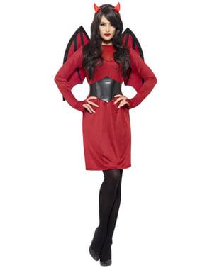 Djævel kostume til kvinder