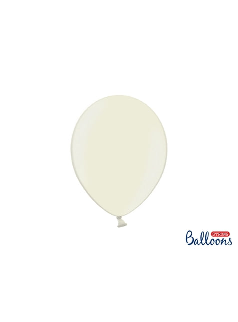 10 Luftballons extra stark metallic-beige (27 cm)
