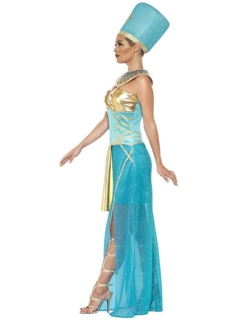 Disfraz de diosa Nefertiti egipcia para mujer - original