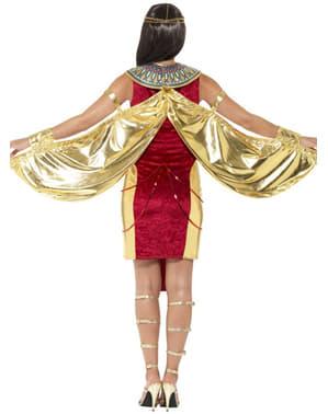 Fato de deusa Isis na moda para mulher