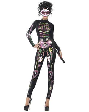 Dia de los Muertos sexy kostume til kvinder