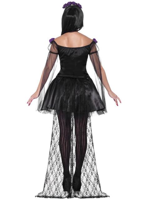 Disfraz de Catrina Día de los Muertos sexy para mujer - mujer