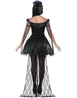 Sexy Miss Day of the Dead Kostyme til Damer