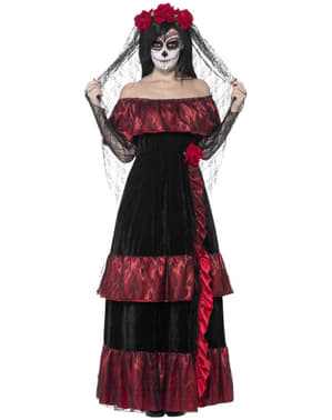 Catrina Deluxe Kostyme Dame
