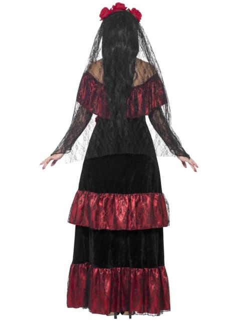 Disfraz de Catrina deluxe para mujer - traje