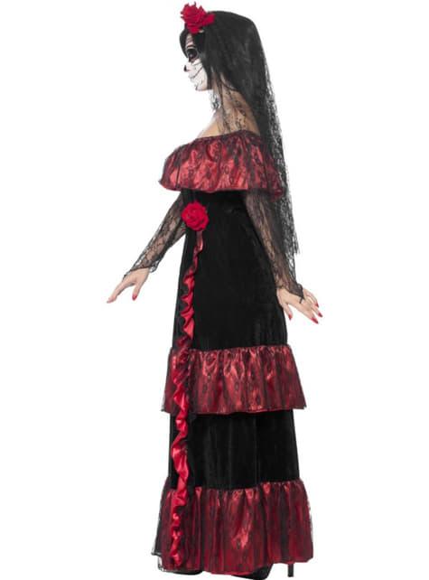 Disfraz de Catrina deluxe para mujer - Halloween