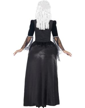 Dámský kostým černá vdova v rokokovém stylu