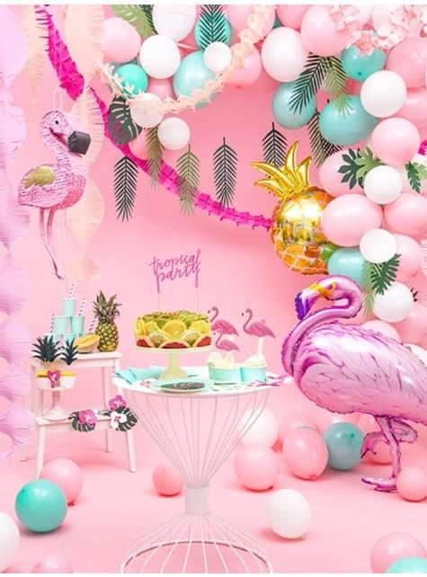 50 extra silných balonků metalicky baby růžových (27 cm)