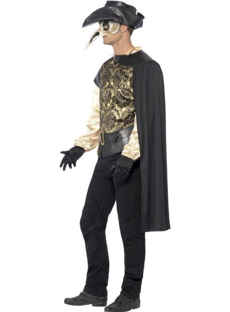 Disfraz de Doctor de la Peste para hombre - original
