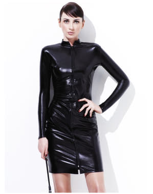 Costum Miss Bici de piele pentru femeie