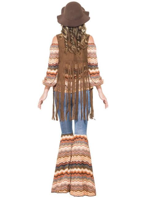 Disfraz de chica hippie para mujer - mujer