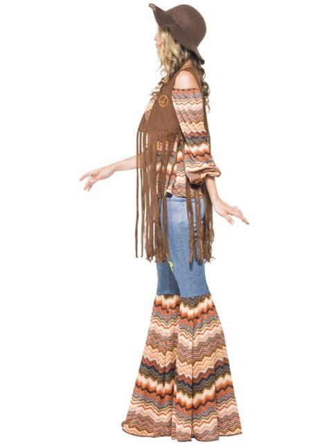 Disfraz de chica hippie para mujer - original