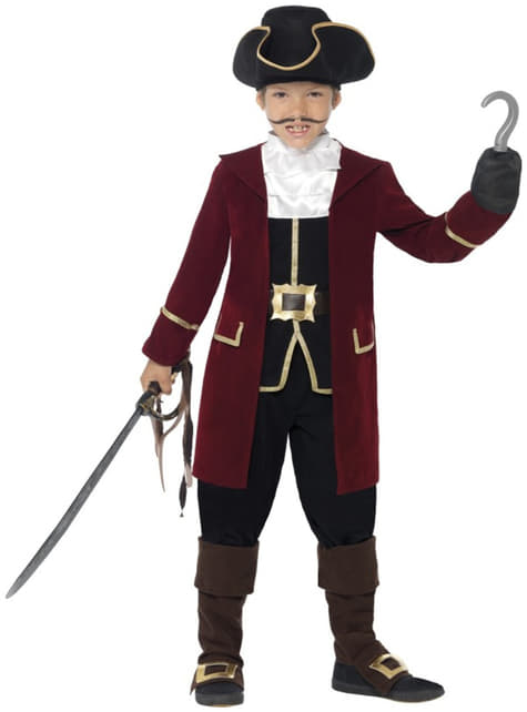 Boys Pirate with Hook Costume