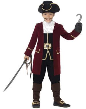 Costum de pirat grena pentru băiat