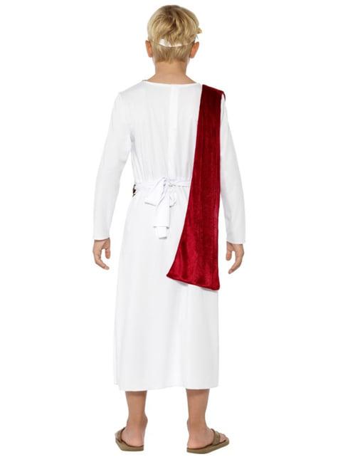 Disfraz de romano César para niño - infantil