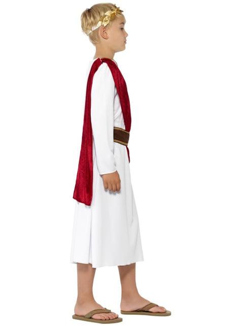 Disfraz de romano César para niño - original