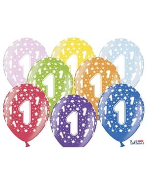 6 Balona od lateksa
