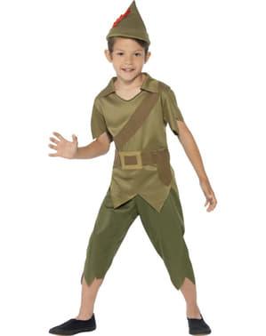 Disfraz de Robin el osado para niño
