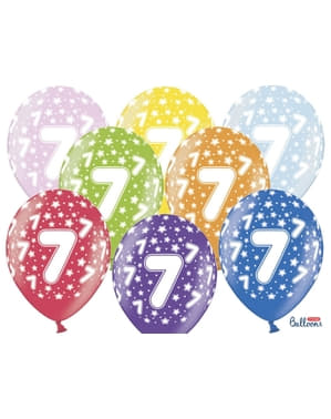 50 balões de látex
