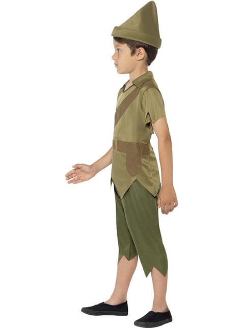 Disfraz de Robin el osado para niño - original